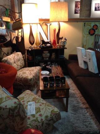 Vintage Junky's Booth Dallas Flea '12