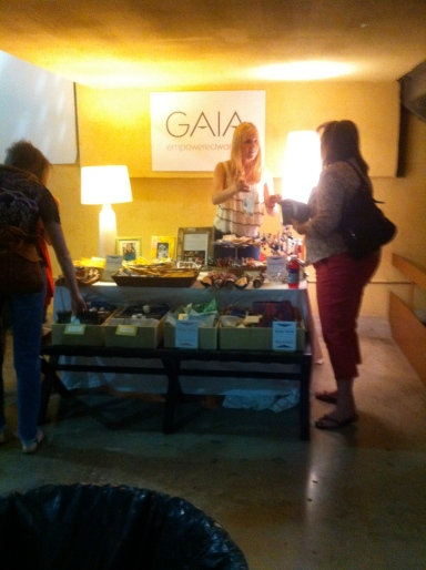 GAIA Booth At Dallas Flea