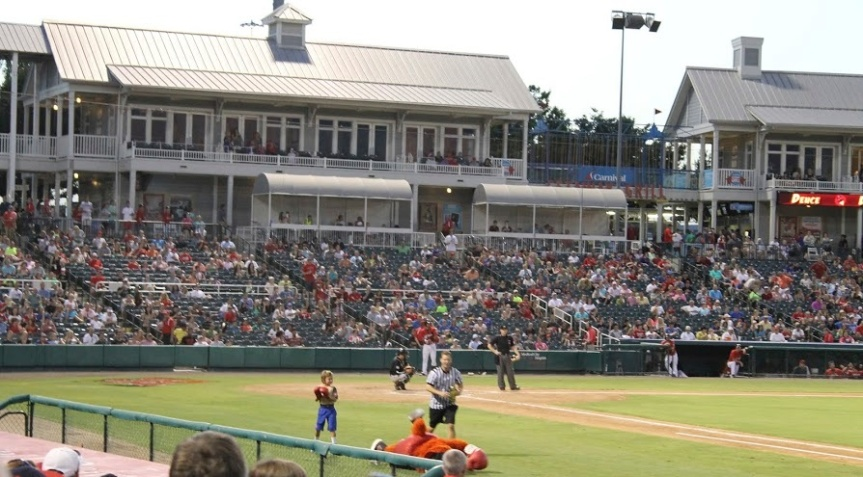 My First Frisco RoughRiders Game